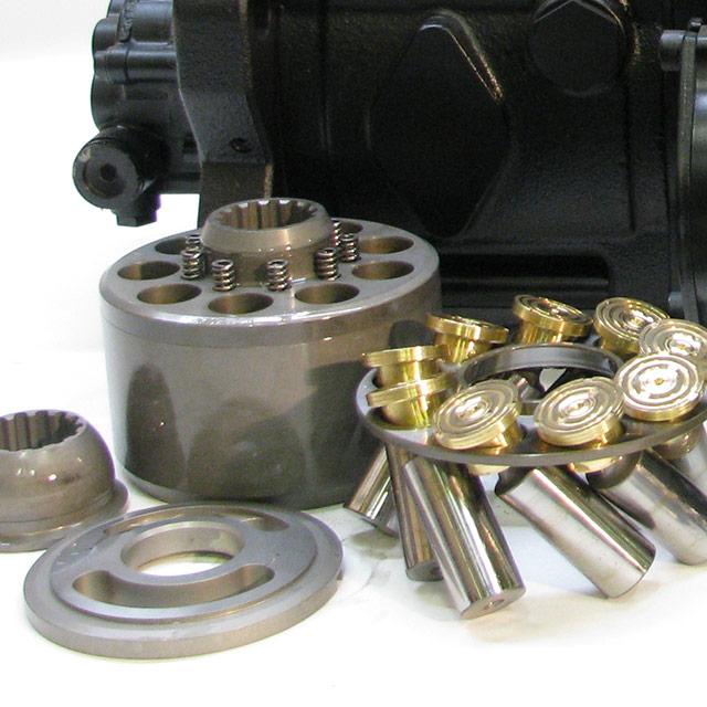Hydrauliikka: Varaosat ja komponentit
